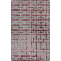 Hand-Tufted Gracie Geometric Wool Area Rug - 8' X 11'