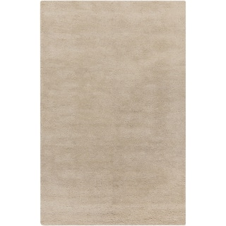 Hand-Woven Tanner Solid Pattern Cotton Area Rug