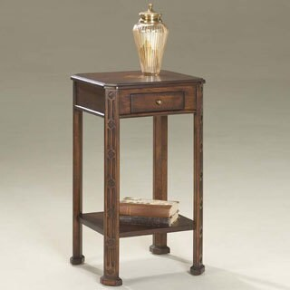 Butler Traditional Plantation Cherry Finish Rectangular Accent Table - Brown