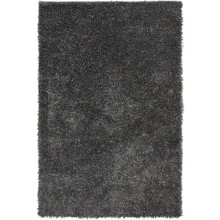 Hand-Woven Mark Solid Pattern Cotton Rug (5' x 8')