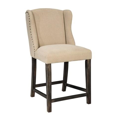 Signature Design by Ashley Moriann 24-inch Upholstered Barstool (Set of 2)