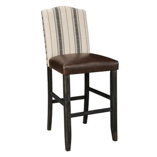Signature Design by Ashley Moriann 30-inch Upholstered Barstool (Set of 2)