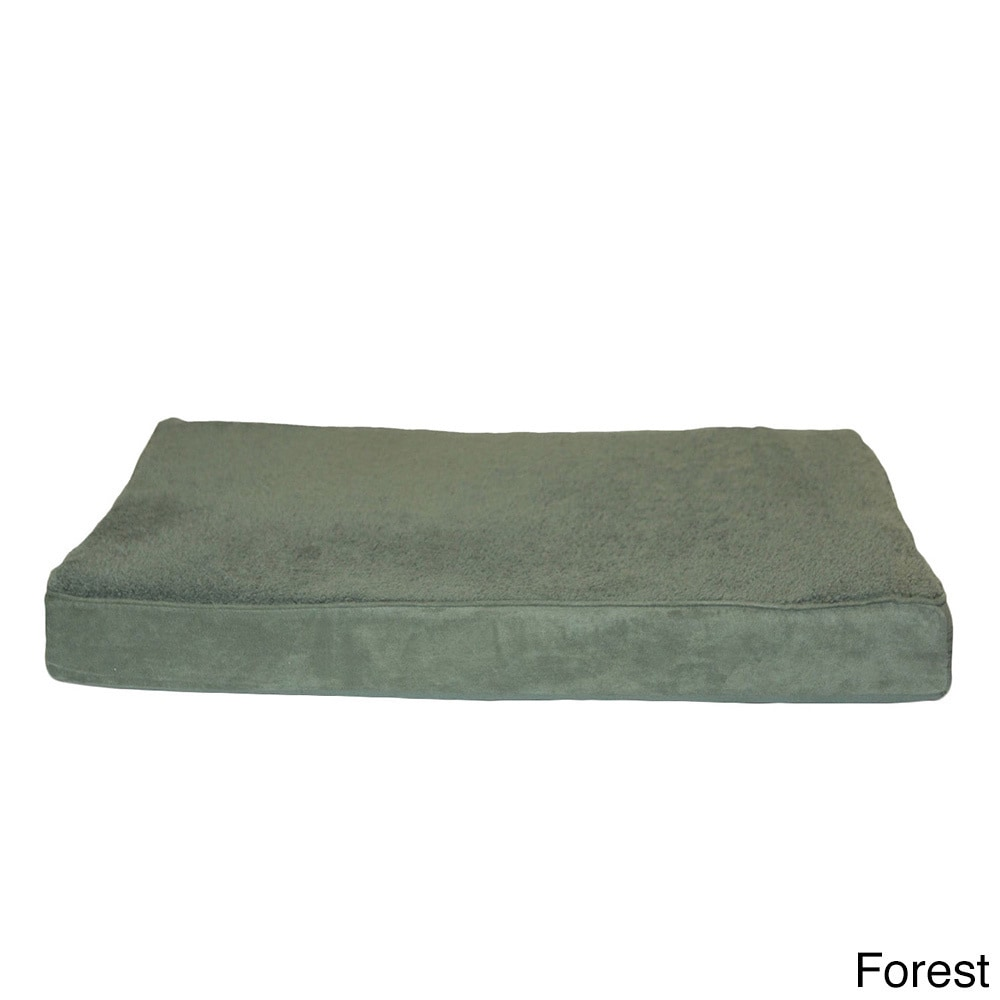 FurHaven Deluxe Orthopedic Pet Bed (Green - Large)