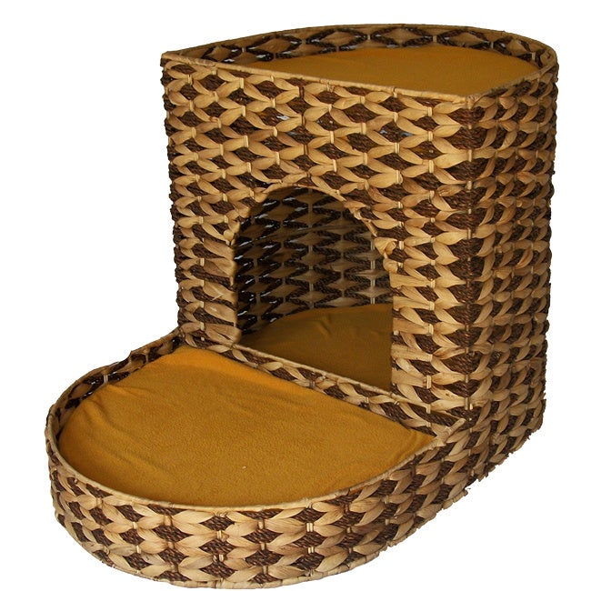 """Eco-Friendly Two-tier Cat Bed (Two Tier Cat Bed, 17.5"""" x ..."""