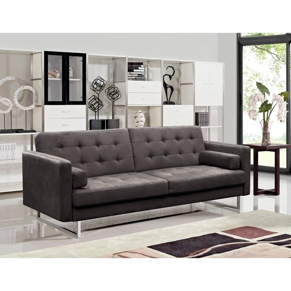 Shop Claire Fabric Modern Sofa Bed - Free Shipping Today - Overstock ...