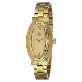 Oniss Women's Zapiro Oval Collection Godltone Watch