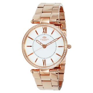 Oniss Women's Stuppendo Collection Rosetone Watch