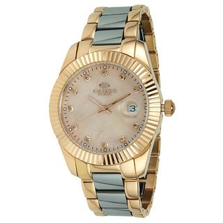 Oniss Women's Stelle Collection Two-Tone Watch