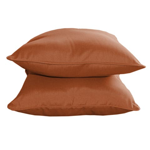 Sunbrella Designer 15-inch Decorative Pillows (2-pack)