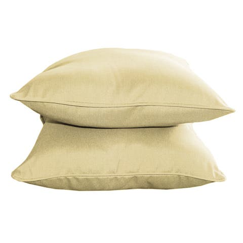 Sunbrella Designer 15-inch Decorative Pillows (2-pack)