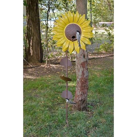 Sunflower Bird Feeder