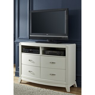 Avalon II White Truffle Media Chest