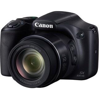 Canon PowerShot SX530 HS 16 Megapixel Compact Camera - Black