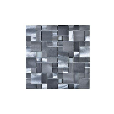 Aluminum/ Glass Square Wall Tile