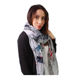 Le Nom Women's London View Scarf