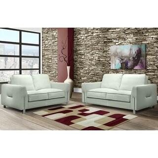 LYKE Home Isabela Red/ Cream Area Rug (5' x 8')