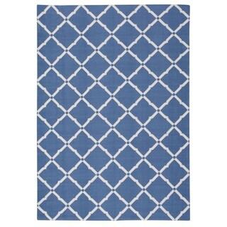 Rug Squared Palmetto Lattice Indoor/Outdoor Area Rug (7'9 x 10'10)