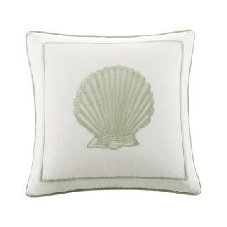 Harbor House Brisbane Cotton Embroideried Square Pillow