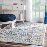 "nuLOOM Modern Abstract Vintage Multi Rug - 5'3"" x 7'7"""