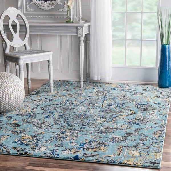 NuLOOM Modern Vintage Vintage Abstract Area Rug (5u0026#x27; ...