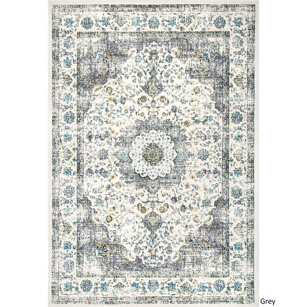 nuLOOM Traditional Persian Vintage Fancy Rug 8 x 10 Free