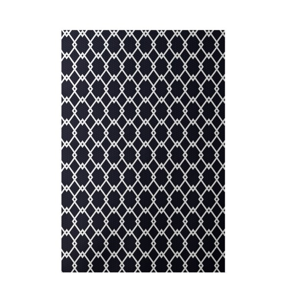 Shop Decorative Micro Trellis Geometric Pattern Area Rug - 4' x 6