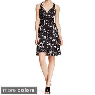 Women's Printed Multi Way Wrap Convertible Infinity Short Dress One Size Fits Most 0-12|https://ak1.ostkcdn.com/images/products/9913567/P17071643.jpg?impolicy=medium