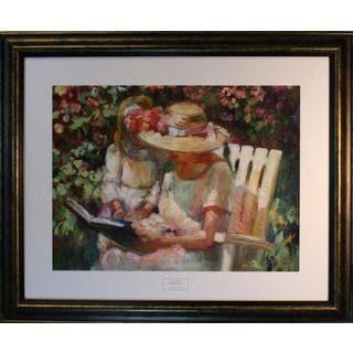 Sally Rosenbaum 'My Mom and Me' Framed Art