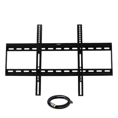 32-inch to 55-inch Low Profile TV Wall Mount with HDMI Cable - N/A - N/A