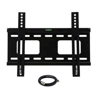 23-inch to 37-inch Low Profile TV Wall Mount with HDMI Cable