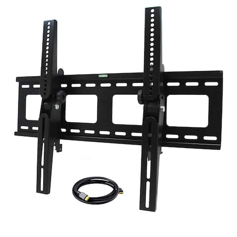 32-inch to 55-inch Tilting TV Wall Mount with HDMI Cable - N/A - N/A