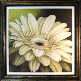 Lisa Audit 'Daisy Portrait' Framed Print Art