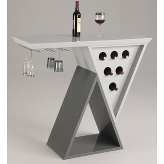 Christopher Knight Home Sonoma Grey Double Triangle Home Bar