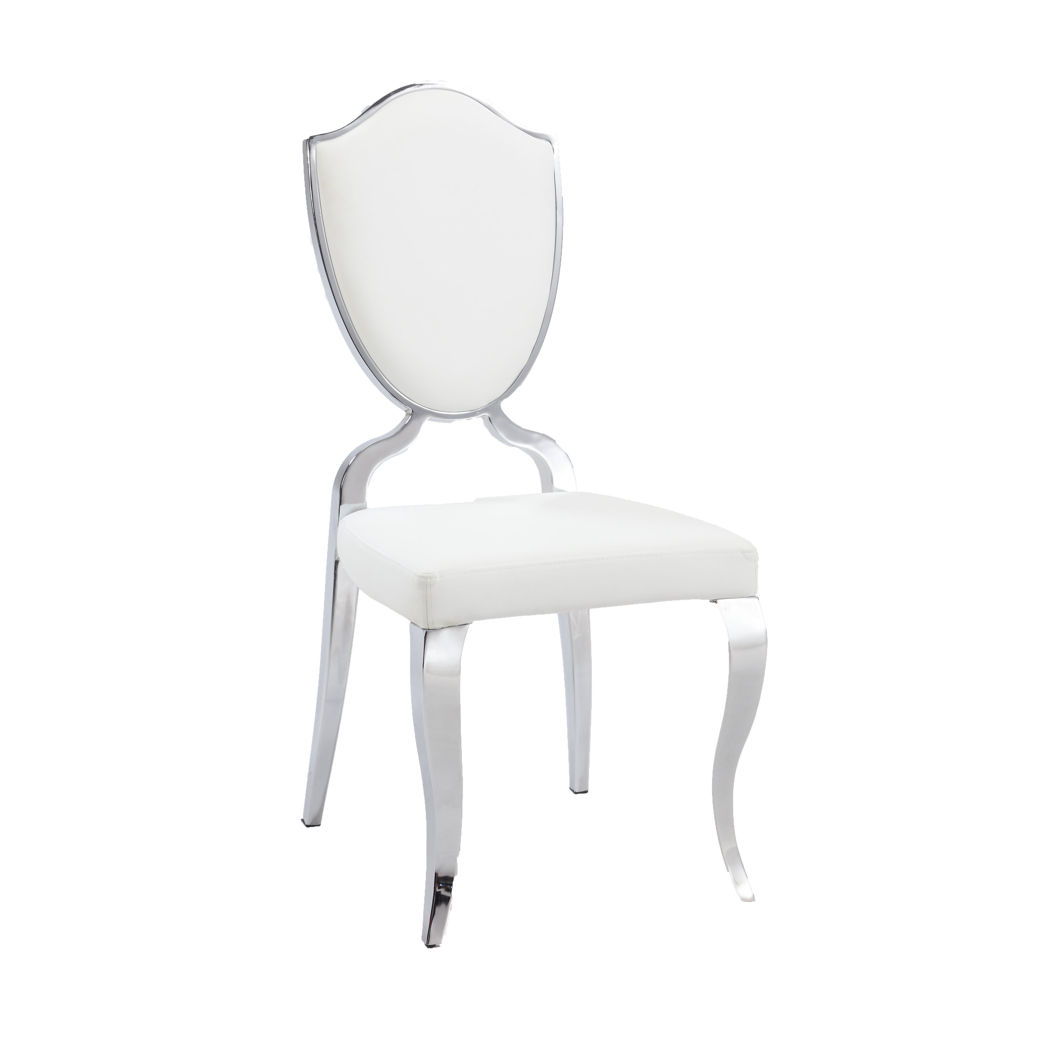 Sensational Somette Lexie White Shield Back Dining Chair Set Of 2 Gmtry Best Dining Table And Chair Ideas Images Gmtryco