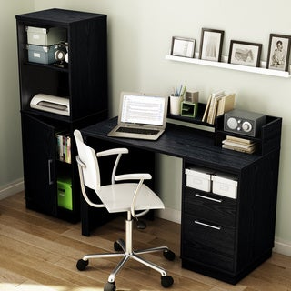 Academic Collection Black Oak Desk