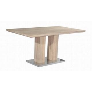 Christopher Knight Home Jocelyn Light Oak Pedestal Table