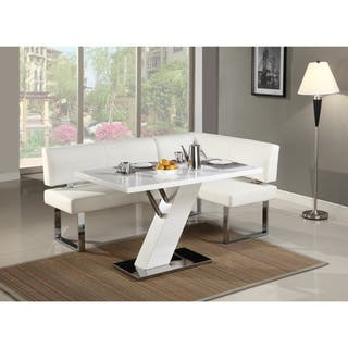 Stainless Steel Finish Kitchen & Dining Room Tables For Less ...