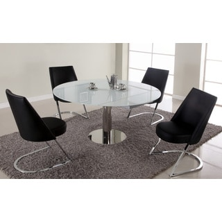 Christopher Knight Home Tatiana Black Round Dining Set (Set of 5)