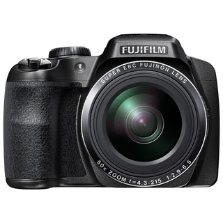 Fujifilm FinePix S9800 16.2 Megapixel Bridge Camera - Black