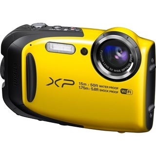 Fujifilm FinePix XP80 16.4 Megapixel Compact Camera - Yellow