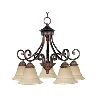 Maxim Brighton Nickel Iron 5-light Chandelier