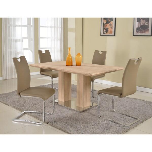 Christopher Knight Home Jocelyn Light Oak Dining Set Of 5