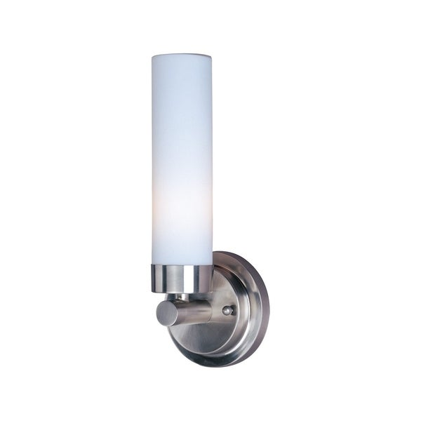 Maxim Cilandro Nickel Steel 1-light Wall Sconce