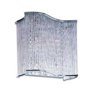 Maxim Swizzle Chrome 4-light Wall Sconce