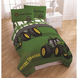 Shop John Deere Tracks Bedding Set Free Shipping Today