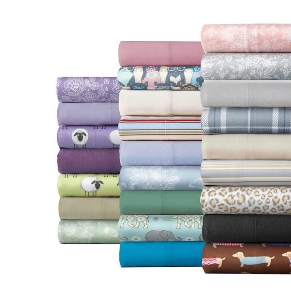 Micro Flannel Bed Sheet Set. Opens flyout.