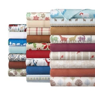 Micro Flannel Printed Sheet Sets (Option: Full)