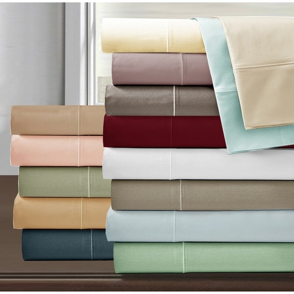 Luxury Egyptian Cotton 800 Thread Count Ultra Soft Bed Sheet Set. Opens flyout.