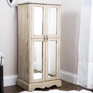 Hives & Honey Chelsea Grey Mist Jewelry Armoire|https://ak1.ostkcdn.com/images/products/9914773/P17072513.jpg?impolicy=medium