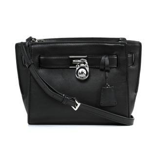 Michael Kors Hamilton Black Traveler Crossbody Handbag